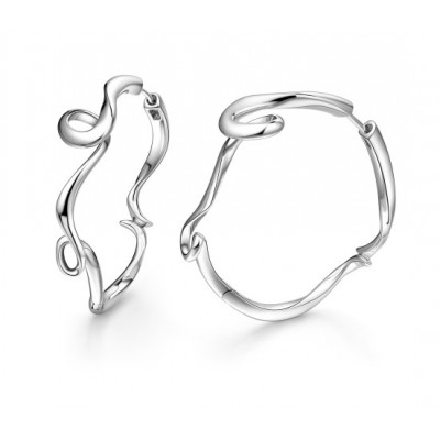 Serenity Small Hoop Earrings