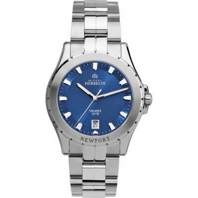 Mens Newport Trophy Stainless Steel Bracelet Watch